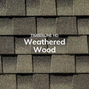 Timberline HD Weathered Wood