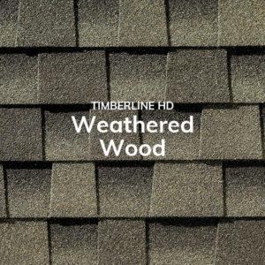 Timberline HD Weathered Wood