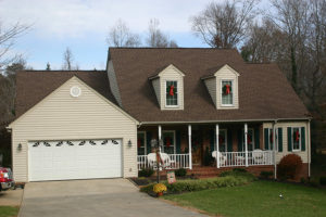 Timberline roof replacement