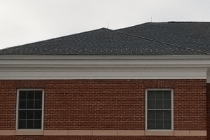 frank r. campbell stadium roof detail work
