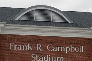 frank r. campbell stadium eyebrow roof