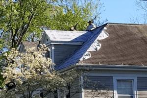 chatham va roofing install